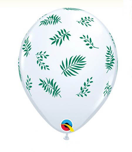 Tropical Greenery Balloons