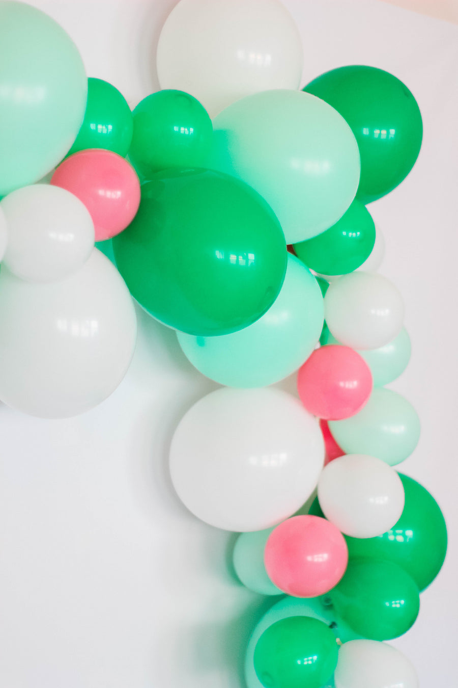 DIY Green & Pink Balloon Garland Kit