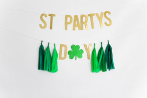 St Partys Day Banner