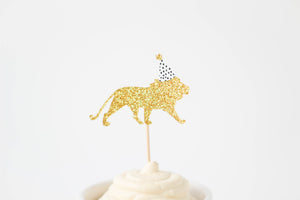 Party Animal Cupcake Toppers | Set of 12