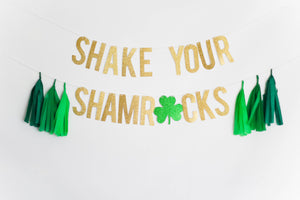 Shake Your Shamrocks Banner