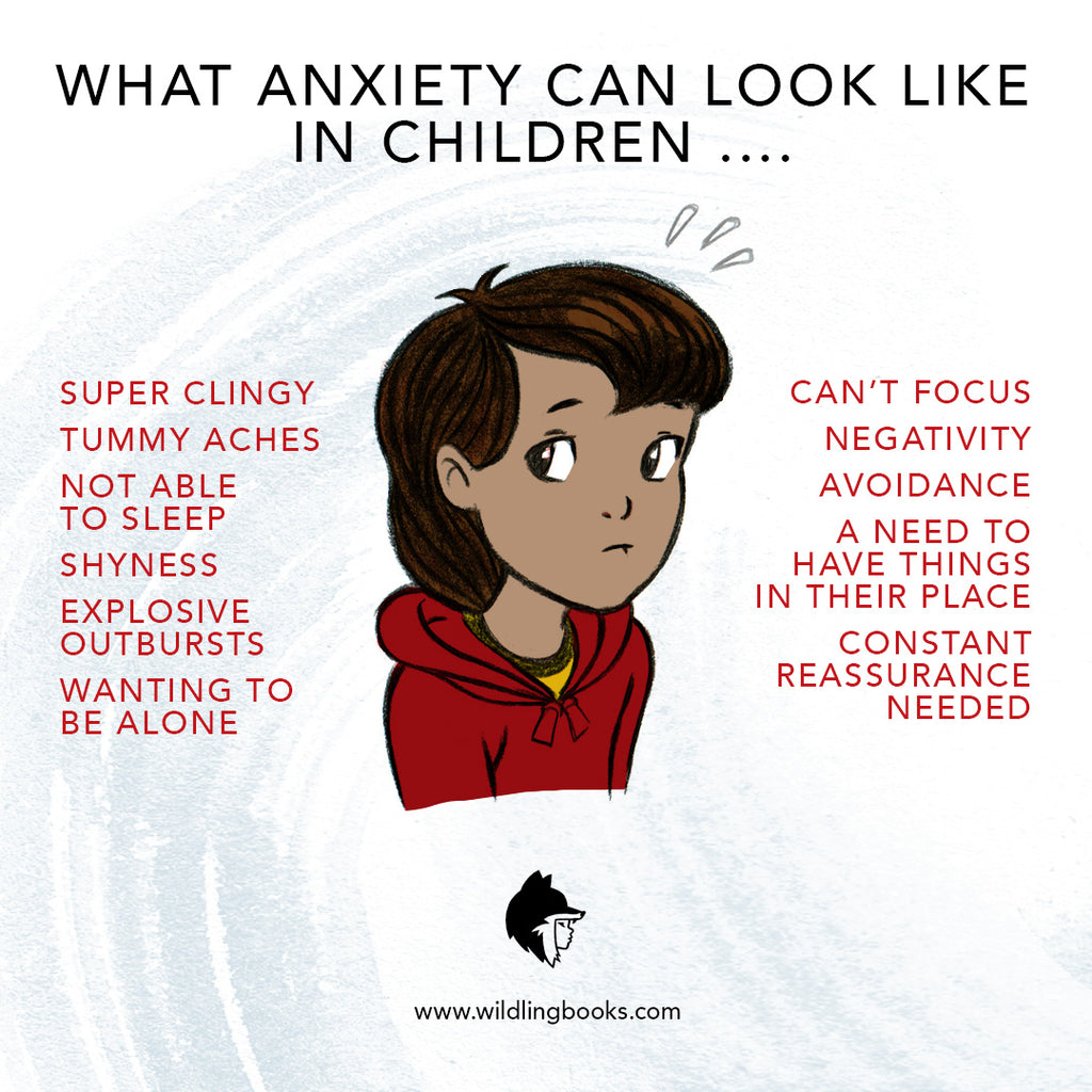 What Anxiety Can Look Like In Children ...