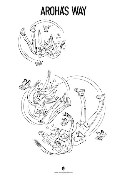 Aroha Colouring Pages - Free Download
