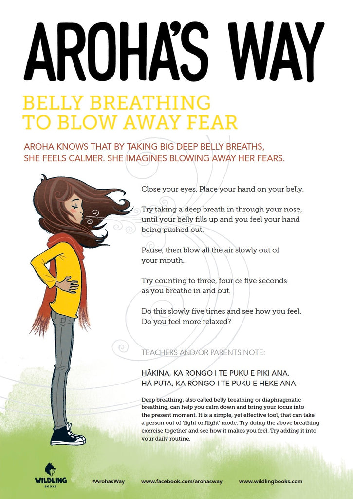 Aroha's Belly Breathing Poster - Free Download