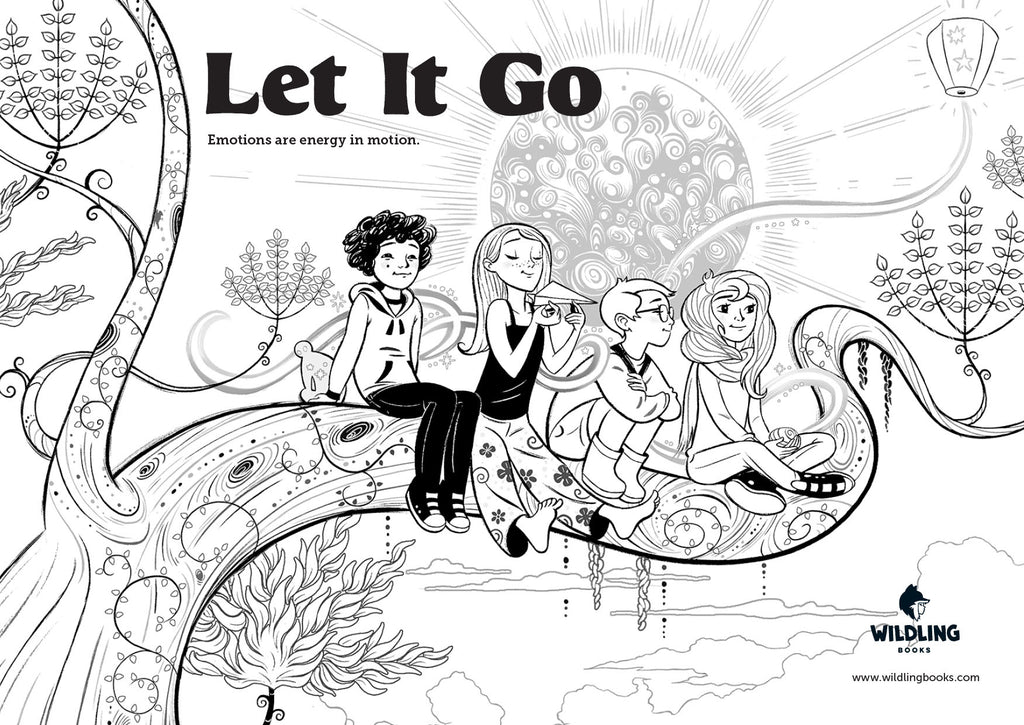 Let It Go Colouring Pages - Free Download