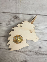 Load image into Gallery viewer, Wooden Christmas Bauble for lindor chocolate - Laser LLama Designs Ltd
