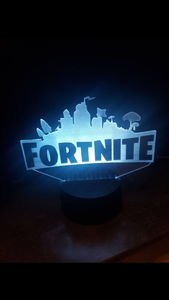 LED light up Fortnite display. 9 Colour options with remote! - Laser LLama Designs Ltd