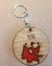 Load image into Gallery viewer, Wooden  personalised bag tags - Laser LLama Designs Ltd