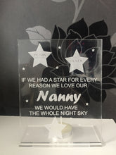 Load image into Gallery viewer, Freestanding acrylic personalised candle holder - Laser LLama Designs Ltd