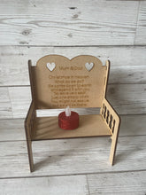 Load image into Gallery viewer, Mdf wooden personalised double bench