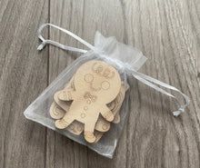 Load image into Gallery viewer, Wooden DIY Christmas activity pack of 4 shapes