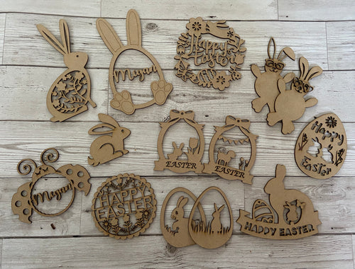 Large Easter set - Laser LLama Designs Ltd