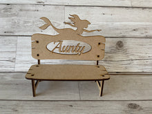 Load image into Gallery viewer, Personalised memorial bench different shapes - Laser LLama Designs Ltd