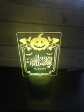 Load image into Gallery viewer, Halloween LED light up display- 9 colour options with remote! - Laser LLama Designs Ltd