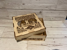 Load image into Gallery viewer, Personalised wooden box - Laser LLama Designs Ltd