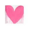 Pink Drippy Heart Block of Love