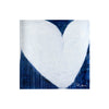 Dark Blue Drippy Heart Block of Love