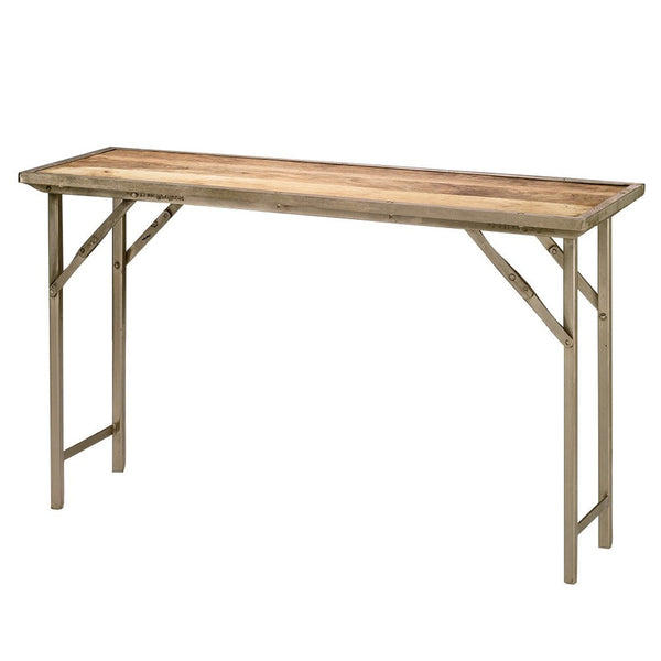 campaigne console table