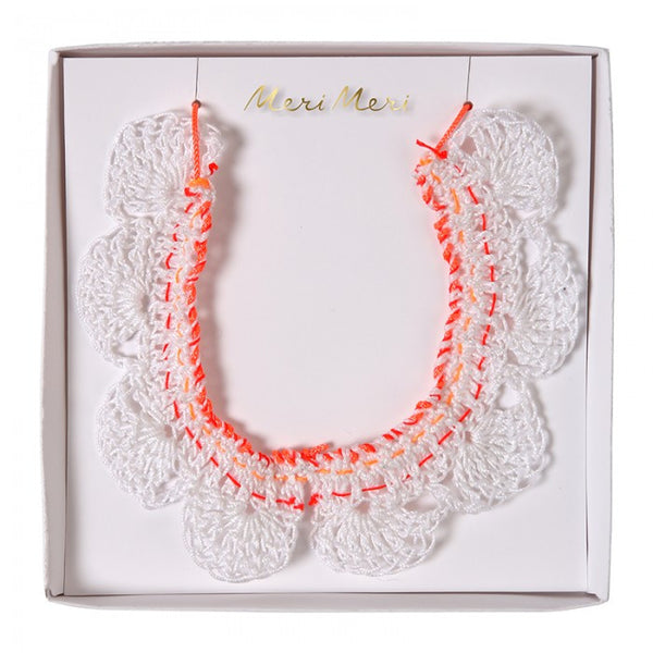 crochet collar necklace