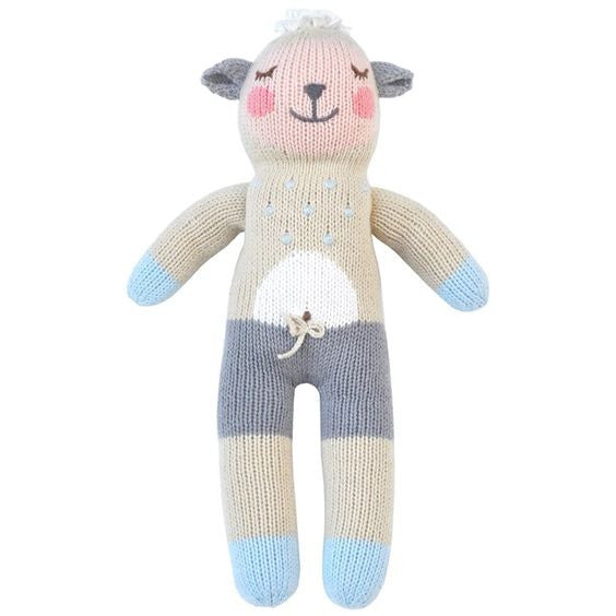 wooly knit doll