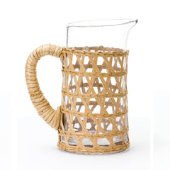 Handwoven Lattice Pitcher