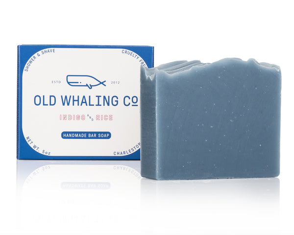 Indigo & Rice Bar Soap