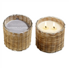 Cashmere Flannel 2 Wick Handwoven Candle 12oz.