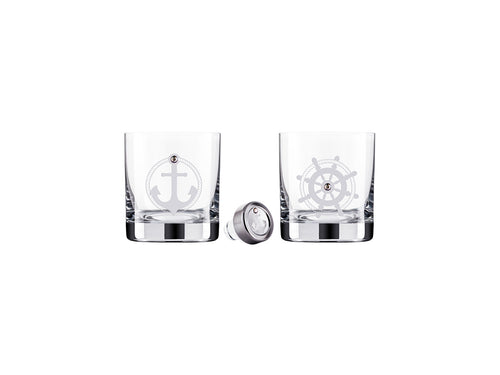 Preciosa Crystal Ware Nautical Whisky