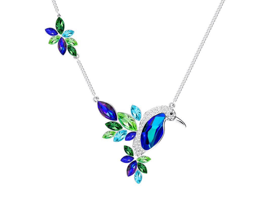Preciosa Crystal Flying Gem Necklace