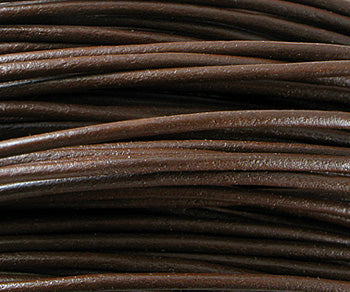 Greek Leather Cord Brown 1.5mm - 10 meters coil