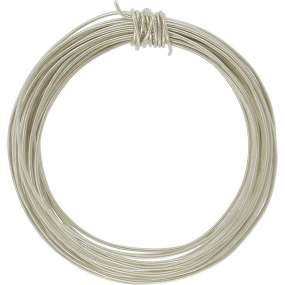 Sterling Silver Wire Round Half Hard 24GA 1 ounce