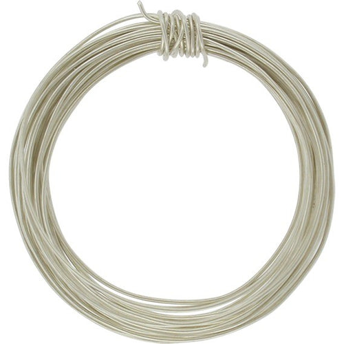 Sterling Silver Wire Round Half Hard 18GA 1 ounce