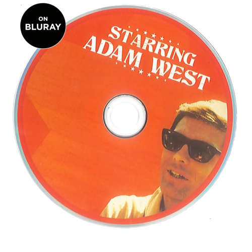 Starring Adam West Bluray- Signed by Adam West