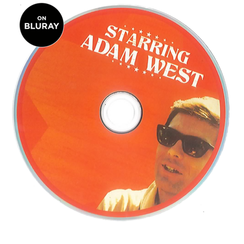 Starring Adam West Bluray *Unsigned