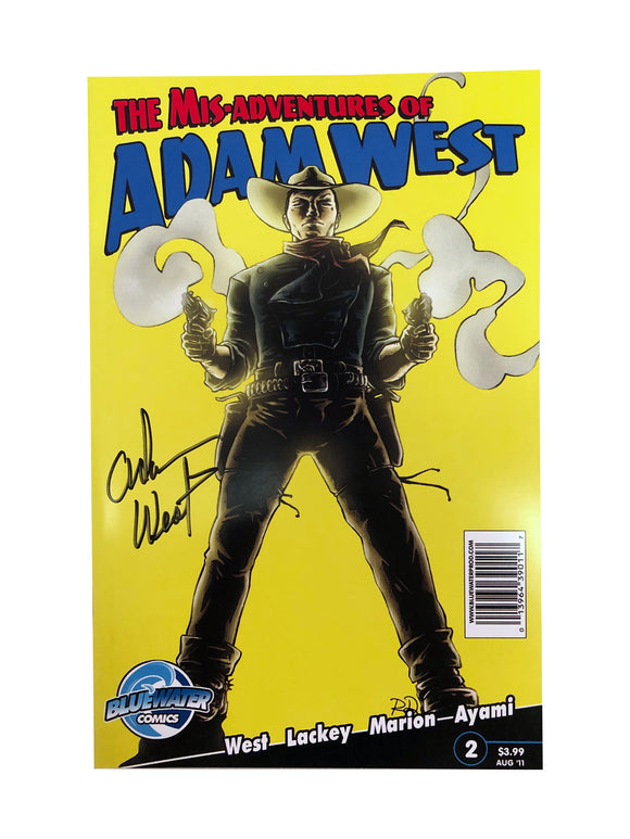 The Mis-Adventures of Adam West Aug '11 | Signed by Adam West