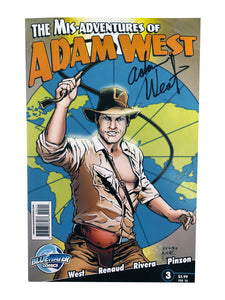 The Mis-Adventures of Adam West Feb '12 | Signed by Adam West