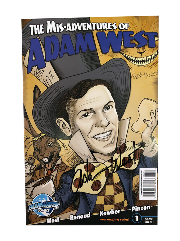 The Mis-Adventures of Adam West Jan '12 |Signed by Adam West