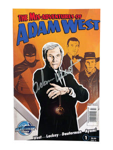 The Mis-Adventures of Adam West July '11 | Signed by Adam West