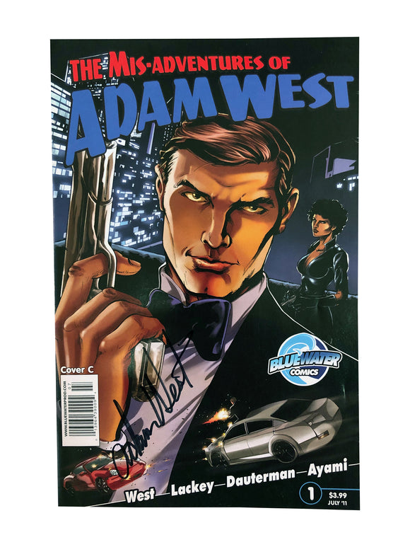 The Mis-Adventures of Adam West July '11 (Cover C) | Signed by Adam West