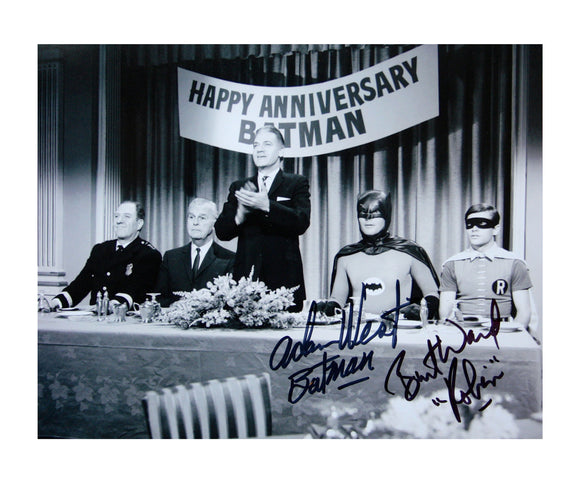 Happy Anniversary Batman | Double Autograph