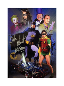 Batman Cast Collage | Double Autograph