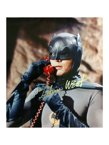 Batman Cave Phone | Signed by Adam West
