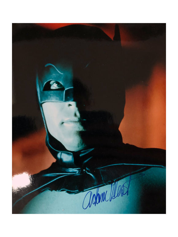 Batman Portrait | Signed by Adam West