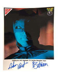 Batman Reunion Tour Poster | Signed by Adam West