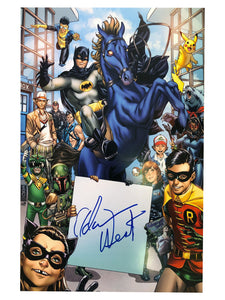 Batman Dark Horse Poster | Signed by Adam West