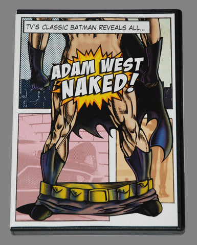 """Adam West Naked"" DVD *Unsigned"