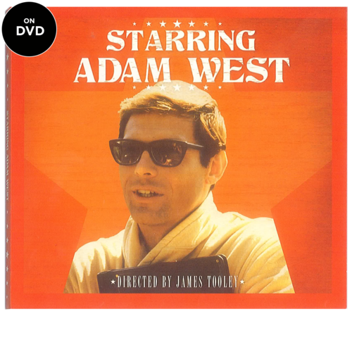 Starring Adam West DVD- Signed by Adam West