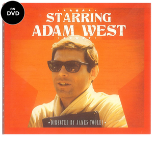 Starring Adam West DVD *Unsigned