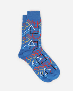 Formation Sock - Blue/Red