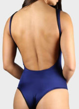 Load image into Gallery viewer, BUNNY ONE PIECE SWIMSUIT REVERSIBLE - NAVY BLUE/BLACK One Piece Sexy Bathingsuit SexyCut ADARABYCAROLB Swimwear